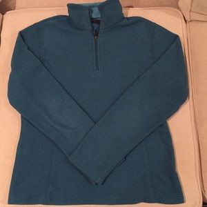 Land End Qtr Zip fleece